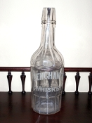 Ben Chance Whiskey Back Bar Bottle