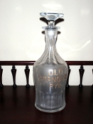 Old Grangers Rye Back Bar Bottle Decanter