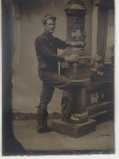 Telegraph Repair Man Tintype