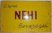 Nehi Beverages Orange Grape Soda Cola Advertising Sign