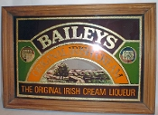 Bailey's Original Irish Cream Mirrored Bar Sign