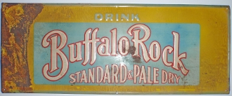 Buffalo Rock Ginger Ale Advertising Sign