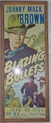Blazing Bullets Movie Poster Insert