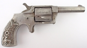Norwich Arms .30 Caliber Revolver With Rare Metal Grips