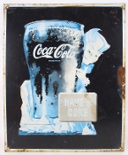 Coca Cola Sprite Boy Have a Coke Metal Tin Sign