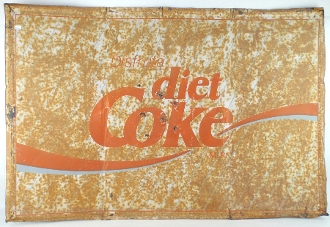 Diet Coke Metal Tin Sign