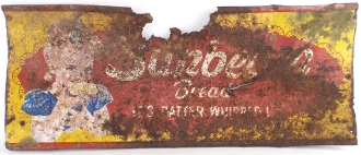 Sunbeam Bread Metal Tin Sun Baked Sign
