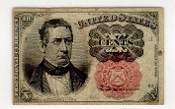 10 Cent United States Fractional Currency Ten Cent Series 1874