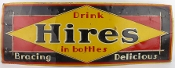 Hires 1920's Metal Tin Advertising Sign