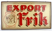 Frik Export Beer Sign