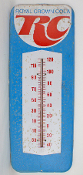 Royal Crown Cola Thermometer RC Sign