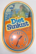 Diet Sunkist Clock California Slim