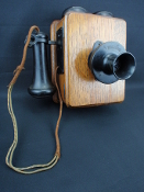 Vintage Kellogg Switchboard & Supply Wall Telephone
