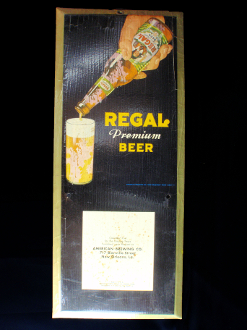 Regal Premium Beer Sign
