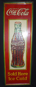 Coke Drink Coca Cola Sold Here Ice Cold 1932 Sign