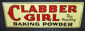 Clabber Girl The Healthier Baking Powder Double Sided Sign