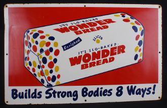 Wonder Bread Builds Strong Bodies 8 Ways! Sign