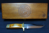 Smith & Wesson Texas rangers 1823-1973 Commemorative Bowie Knife