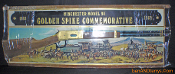 Winchester Mode 94 Golden Spike Commemorative Cardboard Sign