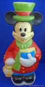 "Mickey Mouse Holding Choir Book 34"" Blow Mold"