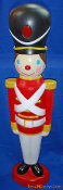 Soldier Christmas Blow Mold in very good condition