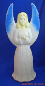 "Angel holding book 30"" Christmas Blow Mold"